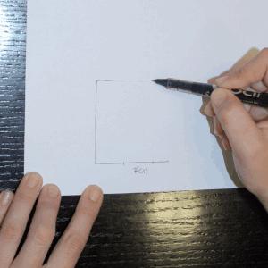 Mira la que tienes enfrente, dibujas otra línea (C)